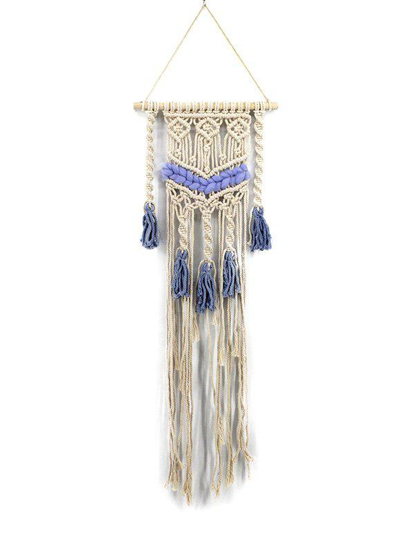 Cheap Bohemian Knitted Tassels Decoration Wall Tapestry