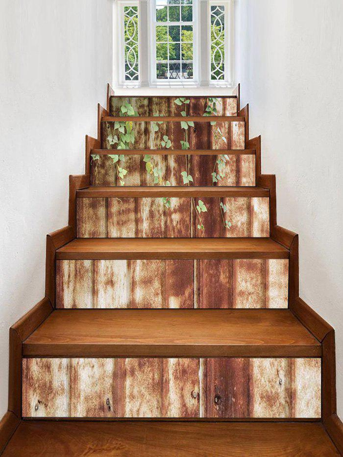 Best Rusty Wall Print Decorative Stair Stickers