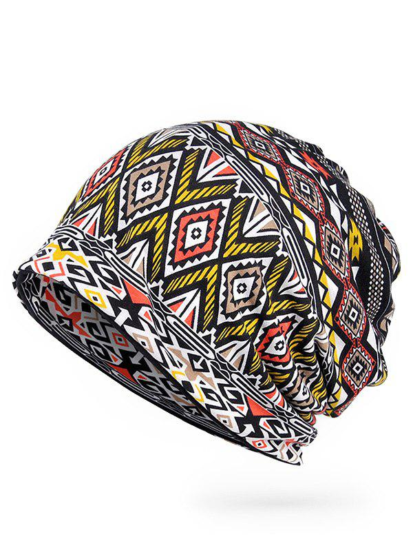 Outfits Geometric Pattern Open Top Slouchy Beanie