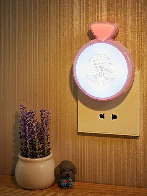 Shop LED Optical Controller Heart Birds Night Light