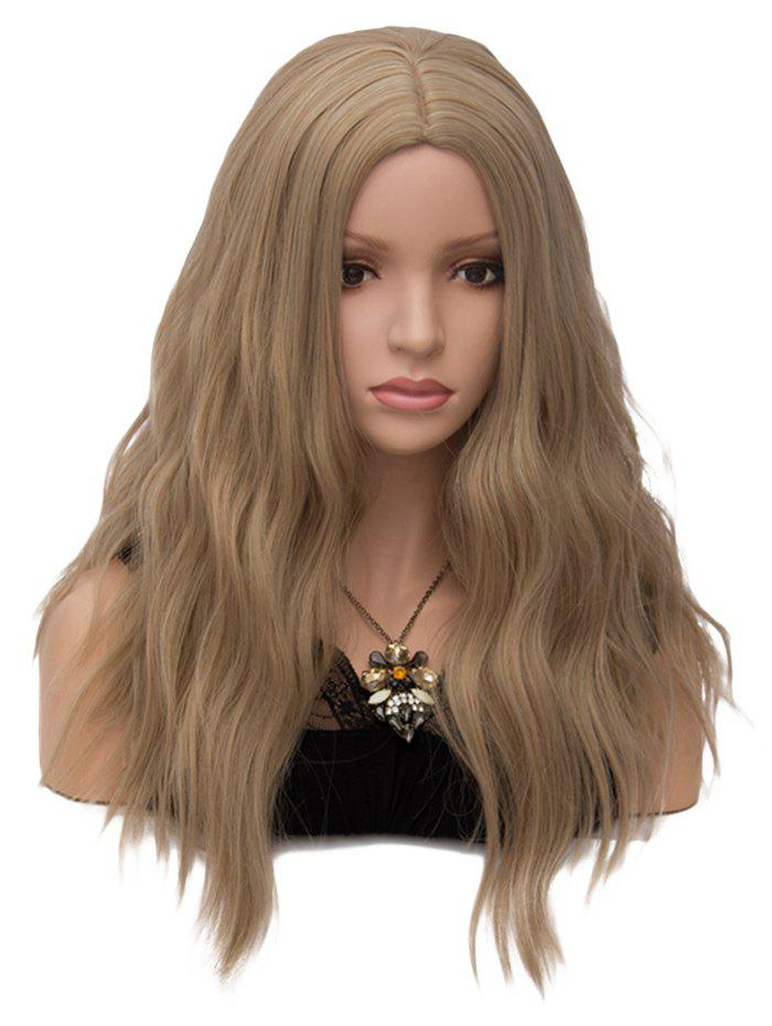 Fashion Long Middle Part Natural Wavy Party Synthetic Wig