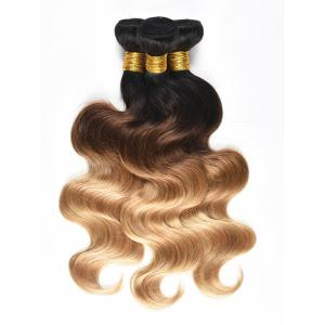 Ombre Body Wave Human Hair Wefts -