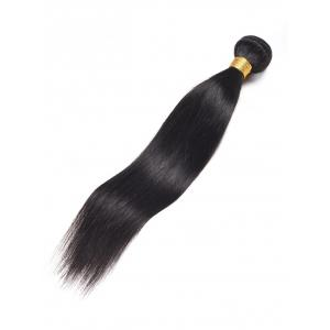 1Pc Straight Indian Real Human Hair Weave -