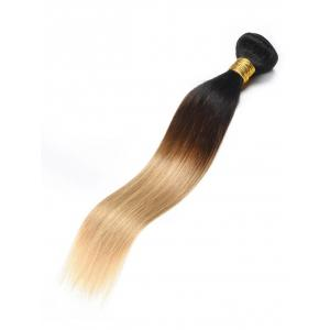 Ombre Straight Human Hair Weave -