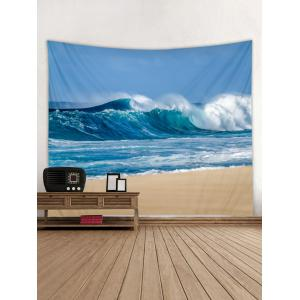 Sky Beach Printed Wall Tapestry Hanging Decoration -