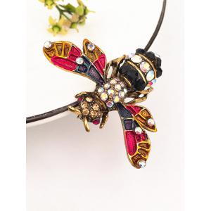 Flying Insect Rhinestone Pin Brooch -