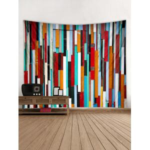 Colorful Wooden Print Wall Tapestry Hanging Decoration -