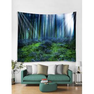 Forest Print Wall Tapestry Hanging Decor -