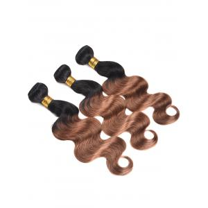 Human Hair Colormix Body Wave Hair Weaves -