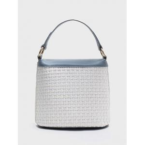 Sac à main Color Block Flap Casual Holiday Straw -