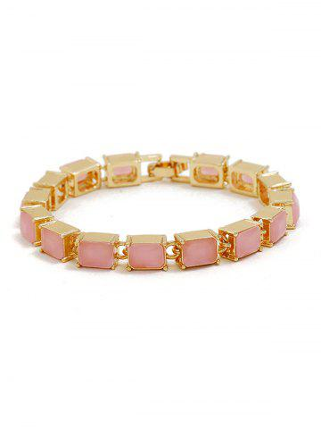 Hot Square Beaded Bracelet