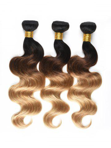 Unique Ombre Body Wave Human Hair Wefts