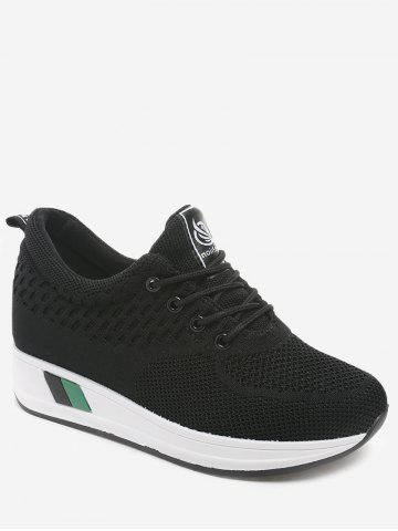 Trendy Increased Internal Casual Lace Up Sneakers