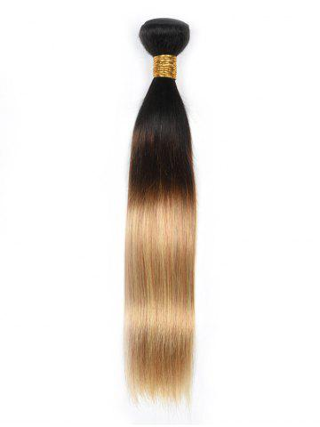 Ombre Straight Human Hair Weave