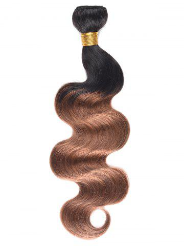 Hot Ombre Body Wave Indian Human Hair Weave