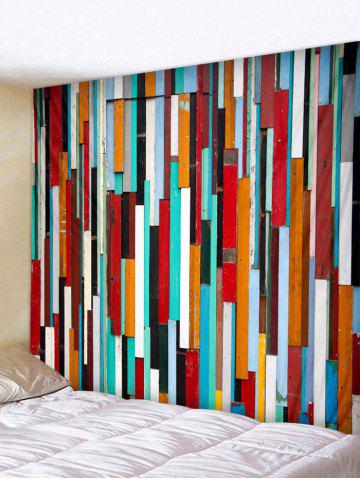 Sale Colorful Wooden Print Wall Tapestry Hanging Decoration