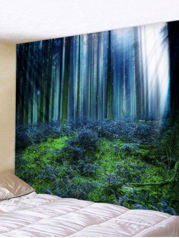 Online Forest Print Wall Tapestry Hanging Decor