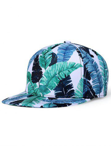 Hot Leaves Printed Adjustable Trucker Hat