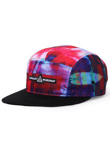Affordable Colored Dreamy Printed Sunscreen Hat
