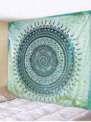 Bohemian Flower Print Wall Tapestry -