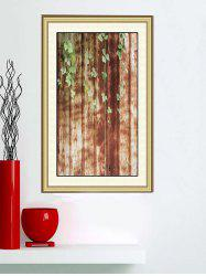 Leaf Rusty Print Wall Sticker for Bedroom -
