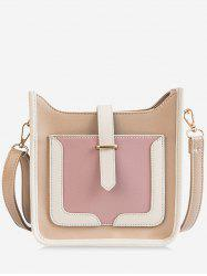 Casual Outdoor Color Block Minimalist Crossbody Bag -