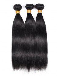 3Pcs Straight Indian Virgin Human Hair Weaves -