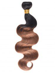 Ombre Body Wave Indian Human Hair Weave -