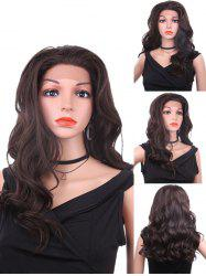 Free Part Long Wavy Lace Front Heat Resistant Synthetic Wig -