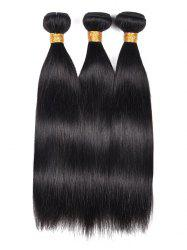 3Pcs Straight Indian Real Human Hair Weaves -