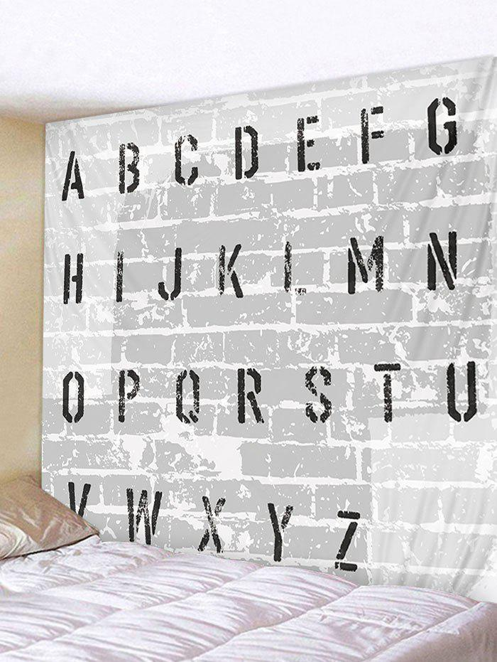 Affordable Letter Brick Wall Print Wall Tapestry