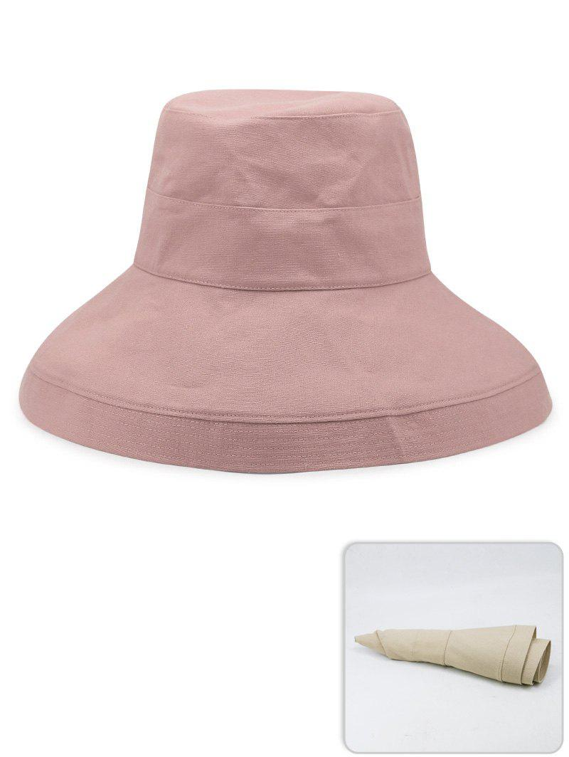 Outfit Portable Solid Color Lightweight Bucket Hat