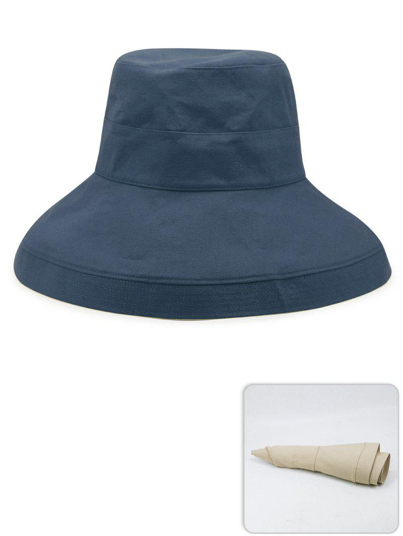 Store Portable Solid Color Lightweight Bucket Hat