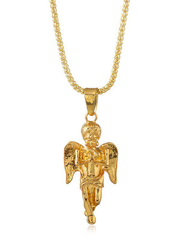 Affordable Angel Design Long Chain Necklace