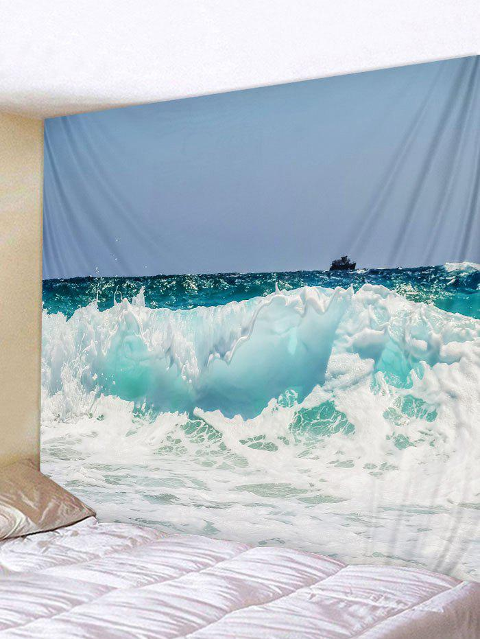 Best Wall Hanging Art Rough Sea Print Tapestry