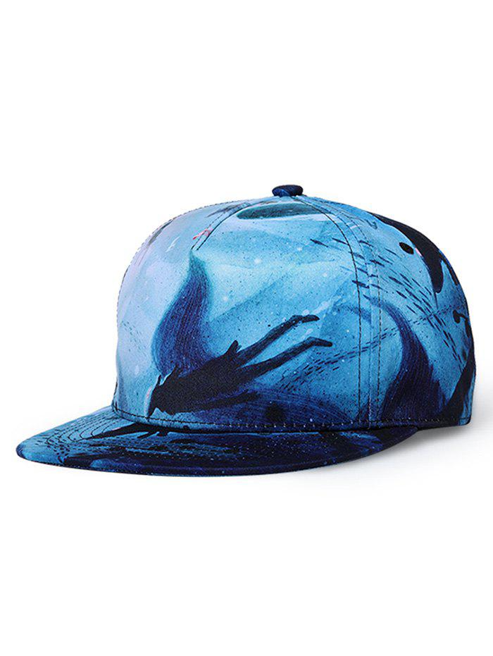 Outfits Dreamy 3D Printed Adjustable Hip Hop Hat