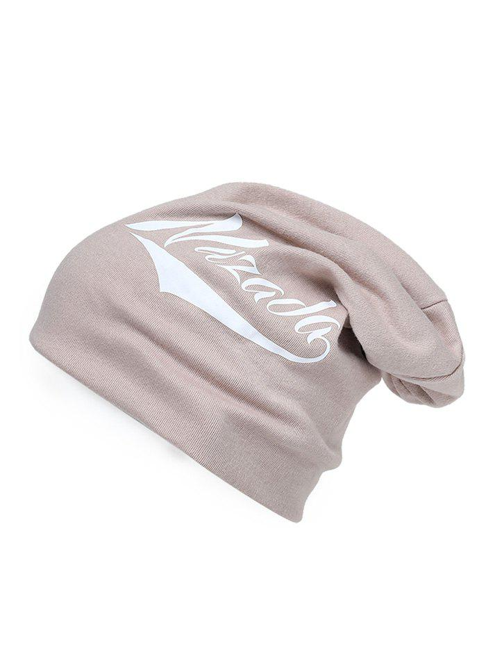 Affordable Outdoor Letter Printed Slouchy Beanie
