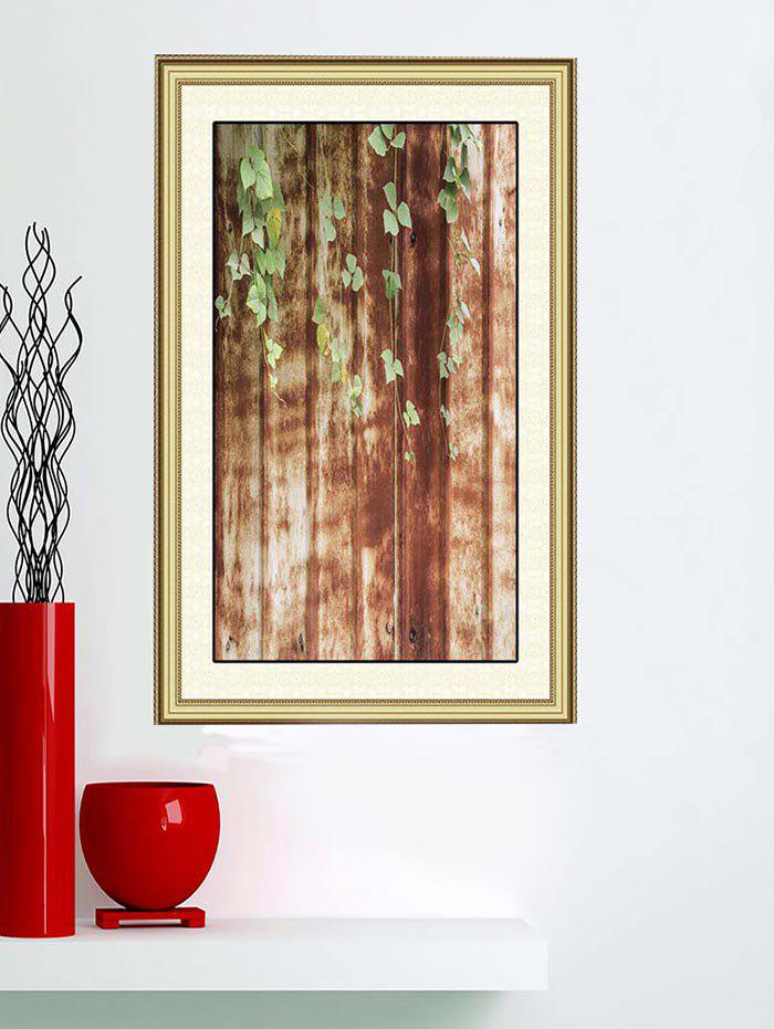 Best Leaf Rusty Print Wall Sticker for Bedroom