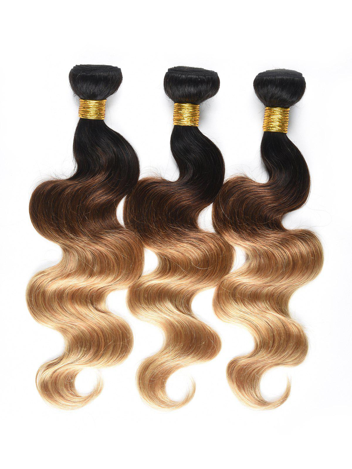 Store Ombre Body Wave Human Hair Wefts