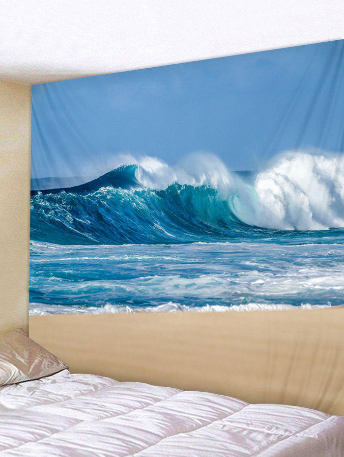 Online Sky Beach Printed Wall Tapestry Hanging Decoration