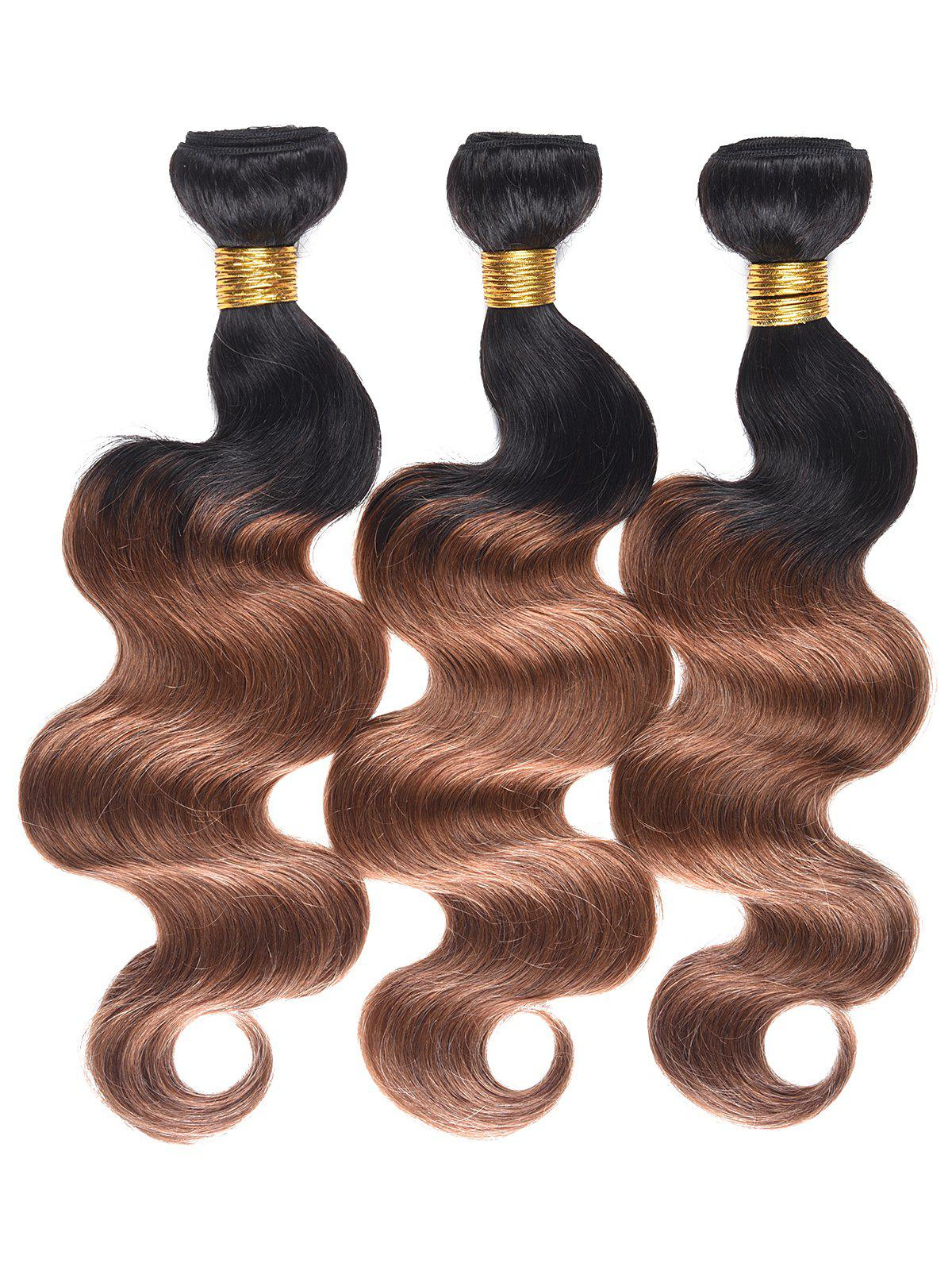 Shops Human Hair Colormix Body Wave Hair Weaves