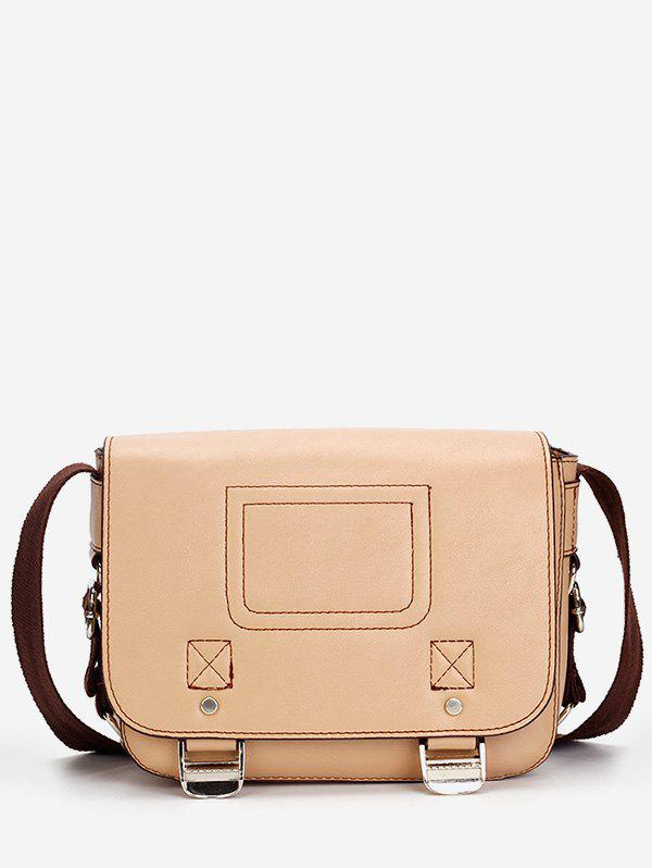 Outfits Retro Minimalist Practical Flapped Crossbody Bag