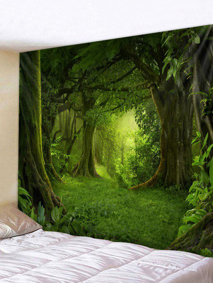 Fancy Forest Pattern Wall Tapestry Hanging Decor