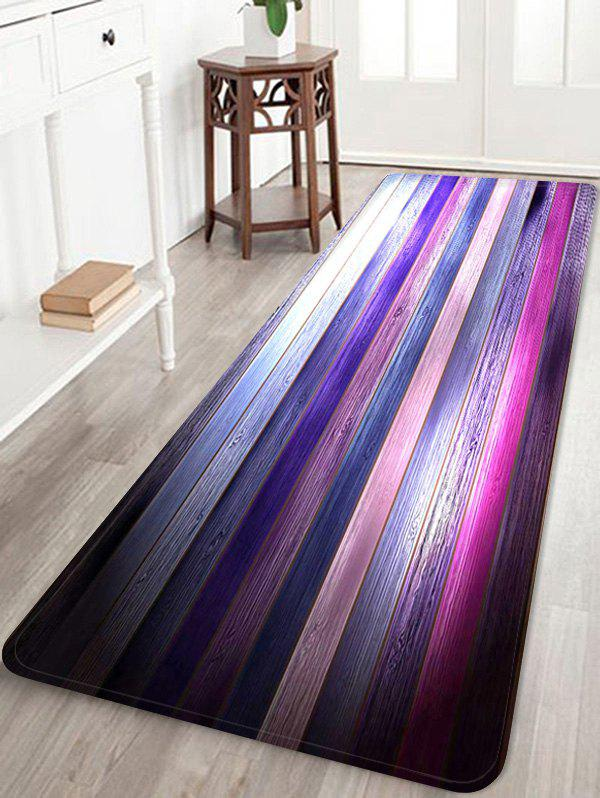 Shop Colorful Wooden Pattern Skidproof Area Rug