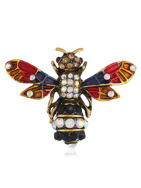 Shop Flying Insect Rhinestone Pin Brooch