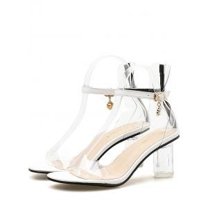 Lucid Strap Stiletto Heel Pumps -