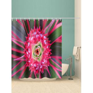Simple Flower Waterproof Bath Curtains -