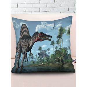 3D Forest Dinosaur Print Decorative Sofa Pillowcase -