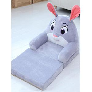 Cartoon Animal Shaped Foldable Plush Mini Sofa -