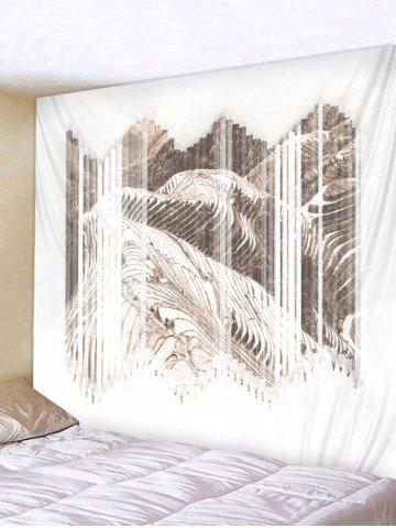 Chic Wall Hanging Art Terraced Fields Print Tapestry